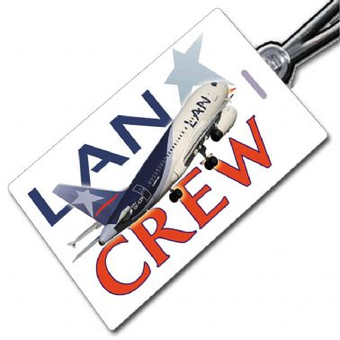 LAN Airlines A318 Tag